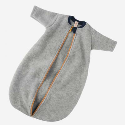 Baby-Schlafsack Wolle langarm