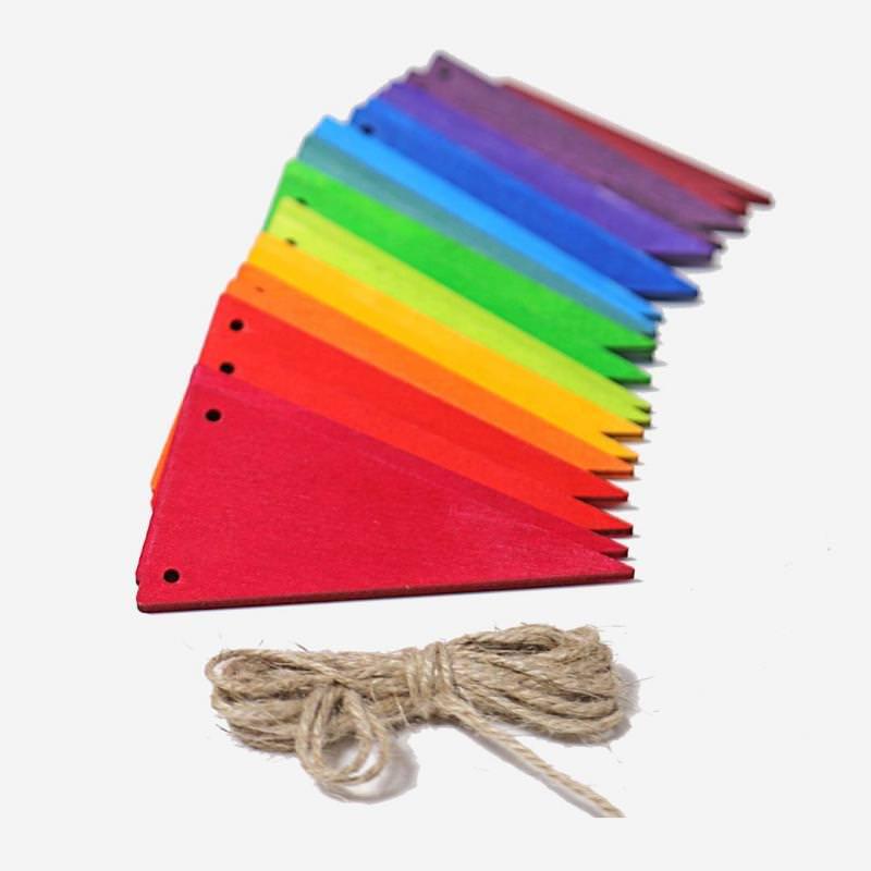 Wimpelkette Regenbogen