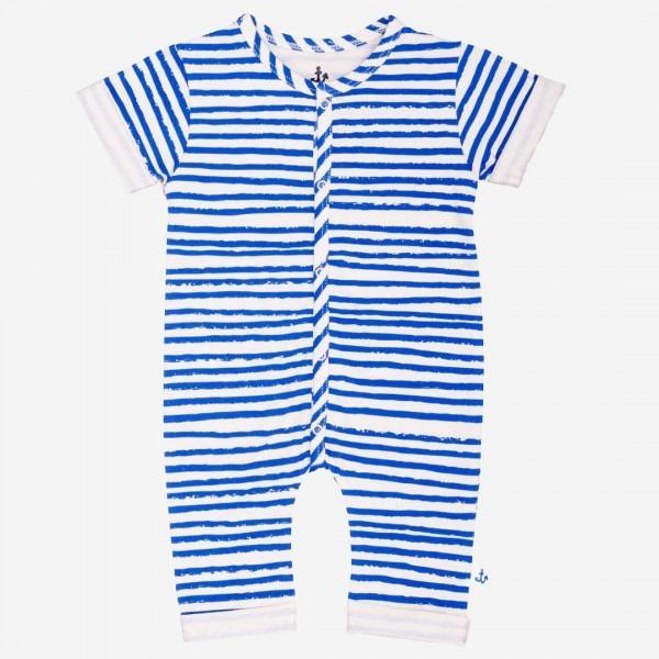 Harem Overall blue stripe