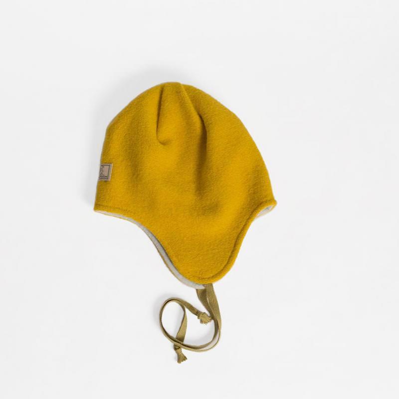 Mütze Jack Wollwalk gelb