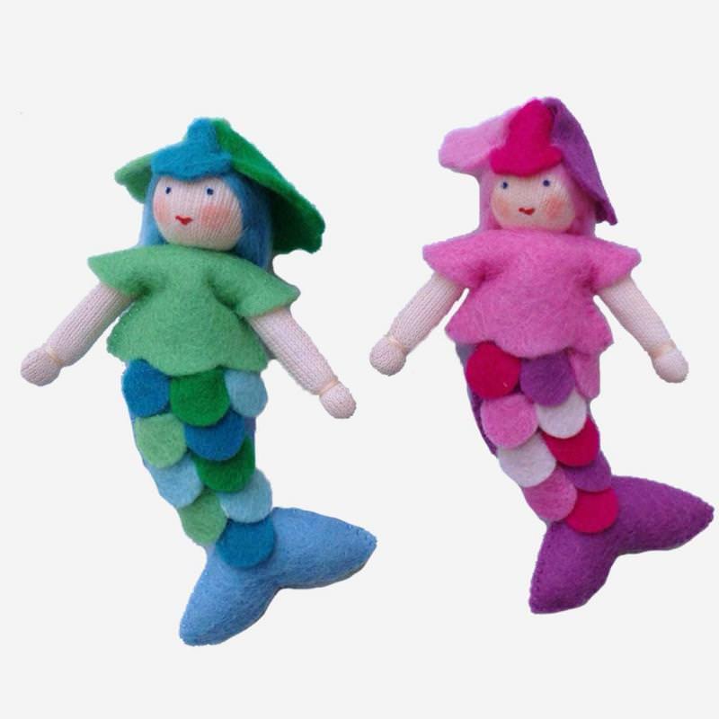 Puppenstuben Meerjungfrau