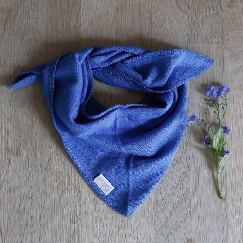 Dreieckstuch Baumwolle blue