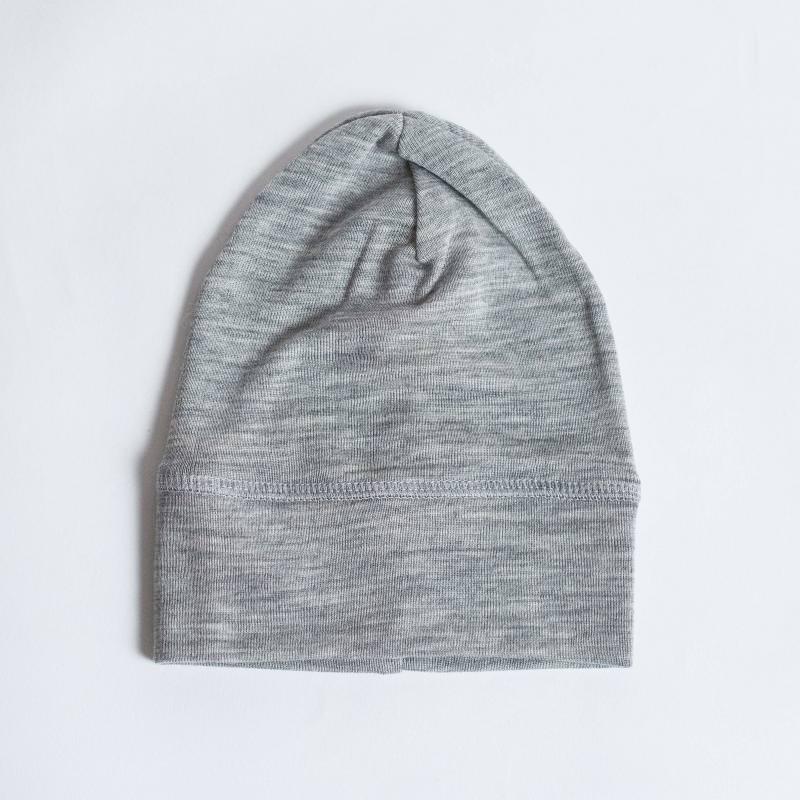 Babymütze Wolle/Seide