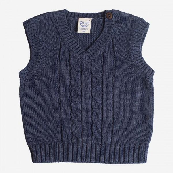 Pullunder Baumwolle/Wolle