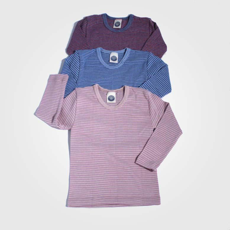 Unterhemd Ringel Baumwolle