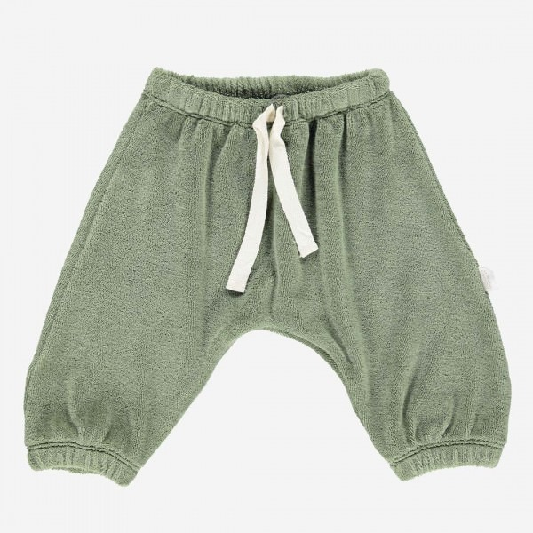 Frottee Hose CANELLE oil green
