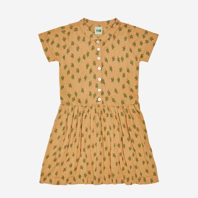 Leaf Dress yellow