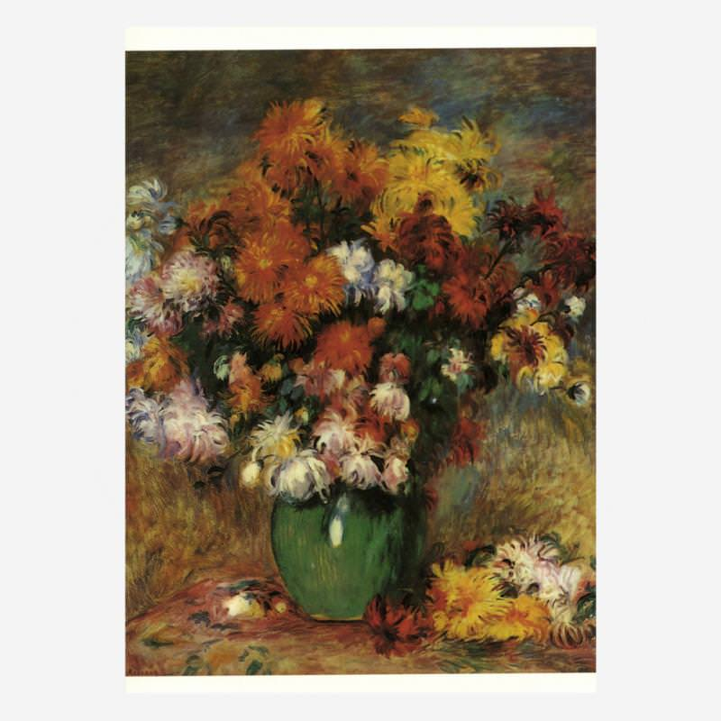 Vase mit Chrysanthemen (A. Renoir)
