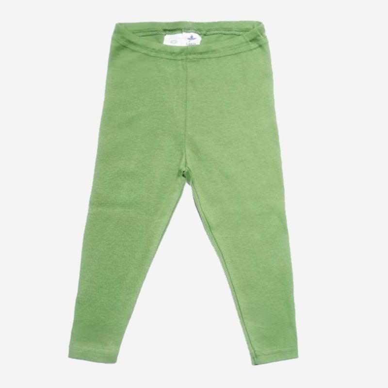 Leggings Baumwolle waldgrün