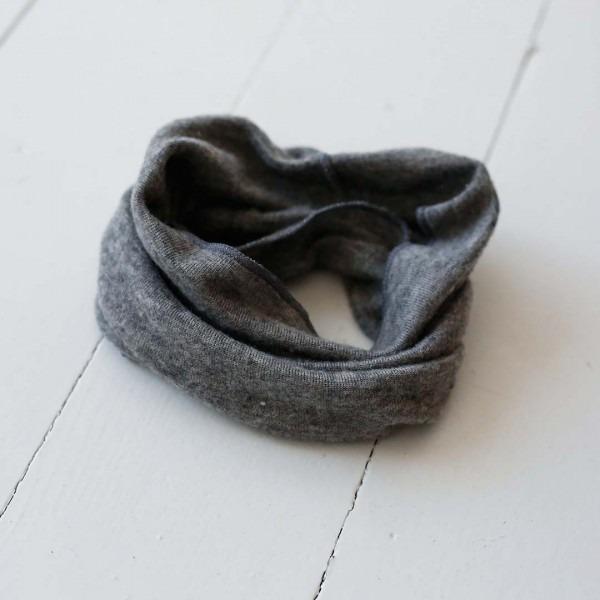 Schlauchschal Wolle/Seide