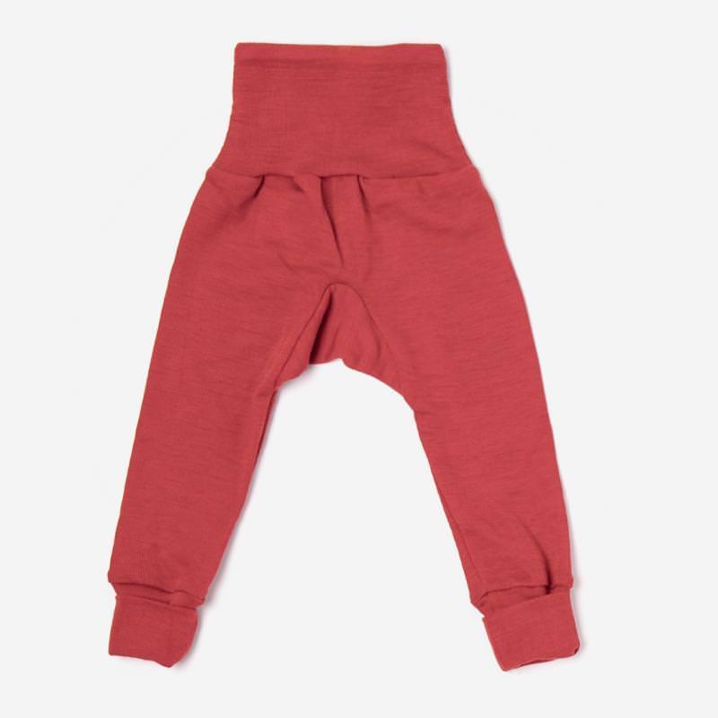 Baby Hose mit Bund rot