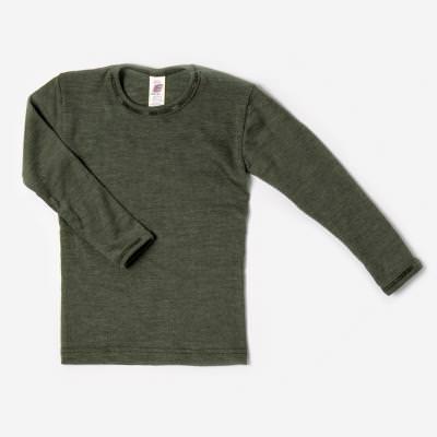 Unterhemd olive Wolle/Seide 92
