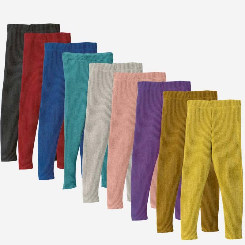 Strick Leggings Wolle
