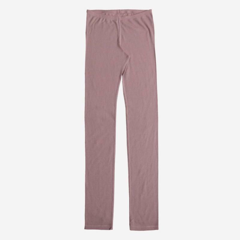Lange Unterhose Wolle rosa