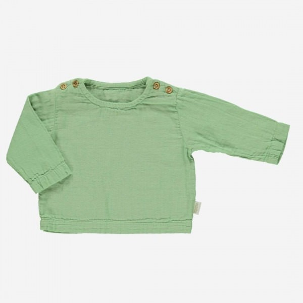 Blouse HOUBLON Green Jade