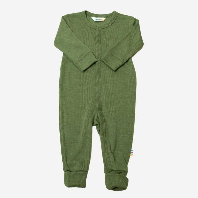 Baby Schlafanzug von Joha aus Merinowolle in salbei
