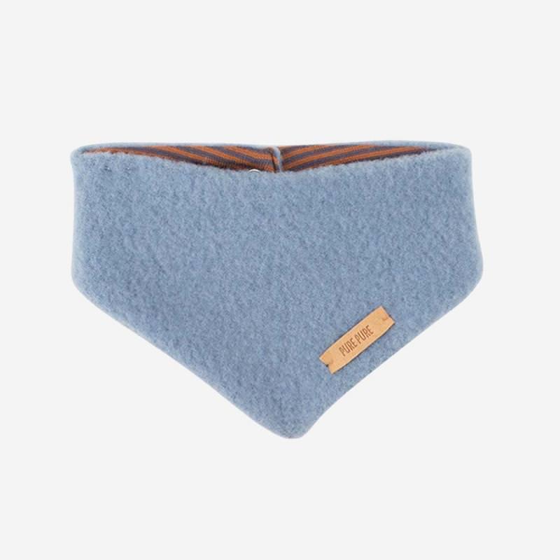 Baby Halstuch Fleece dusty blue