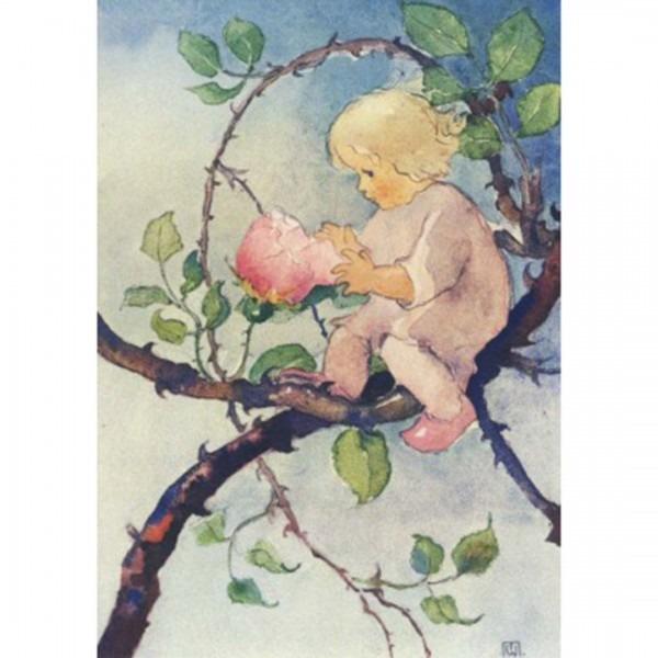 Postkarte Rosenmärchen