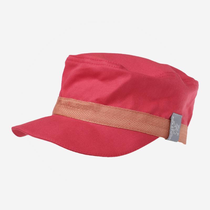 Schirmmütze Mika UV-80 rot