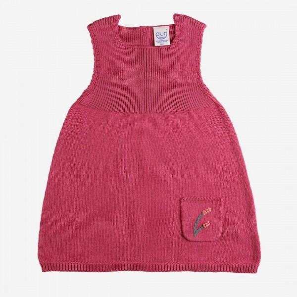 Kleid Baumwollstrick