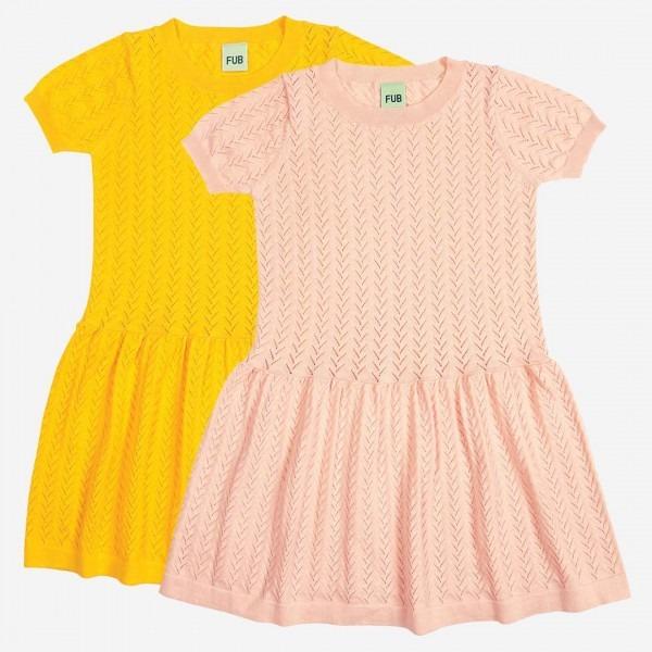 Sommerkleid Stick Baumwolle