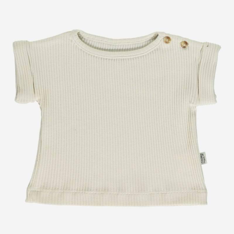 T-Shirt BOURRACHE almond milk