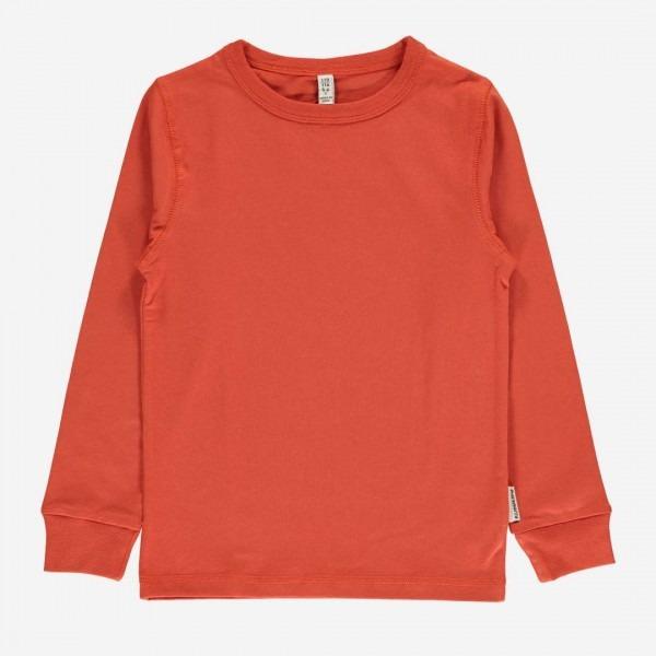 Shirt langarm rusty red