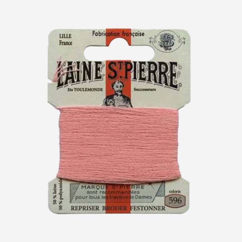 Stopfgarn von Laine Saint-Pierre in altrosa Farbnummer 496