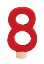 Zahlenstecker 8