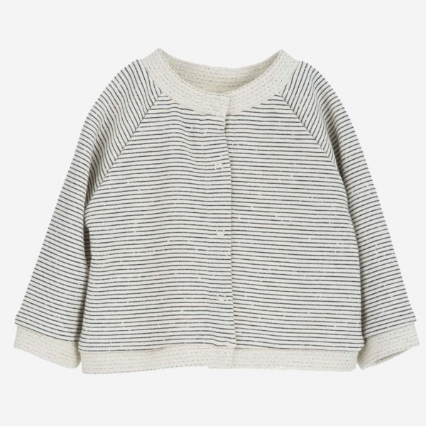 Baby Sweat Jacket navystripe