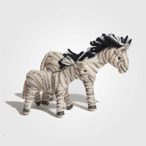 Filz Zebra