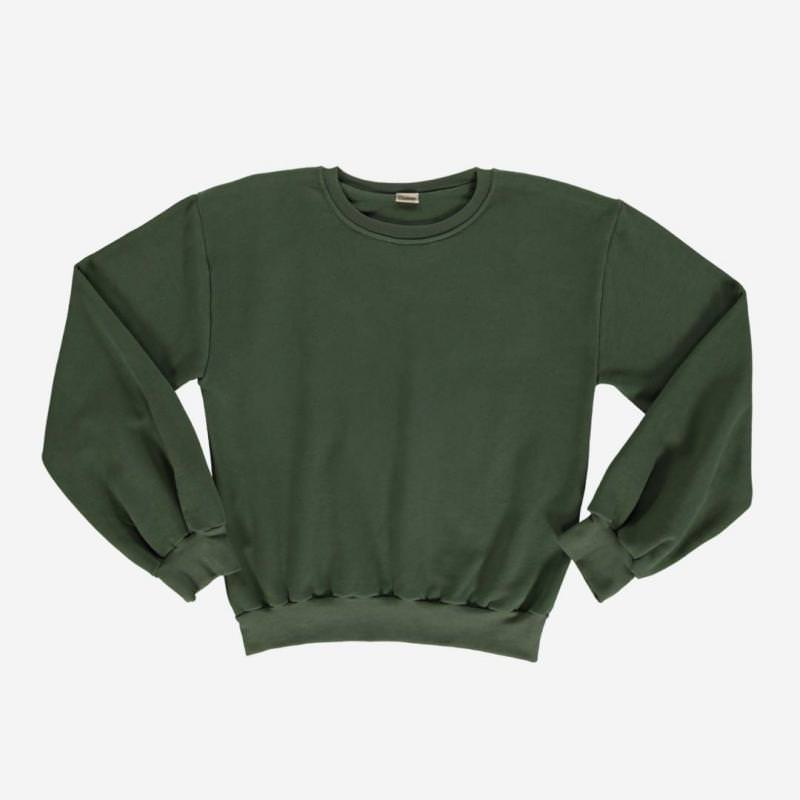 Damen Sweatshirt CEDRAT forest green