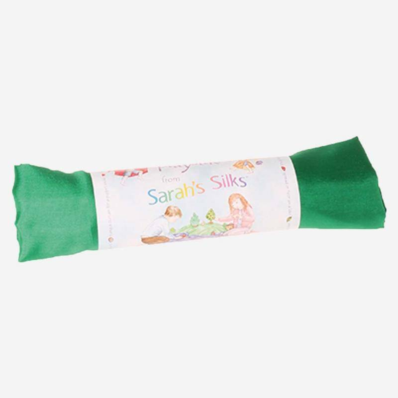 Spiel Seide smaragdgrün