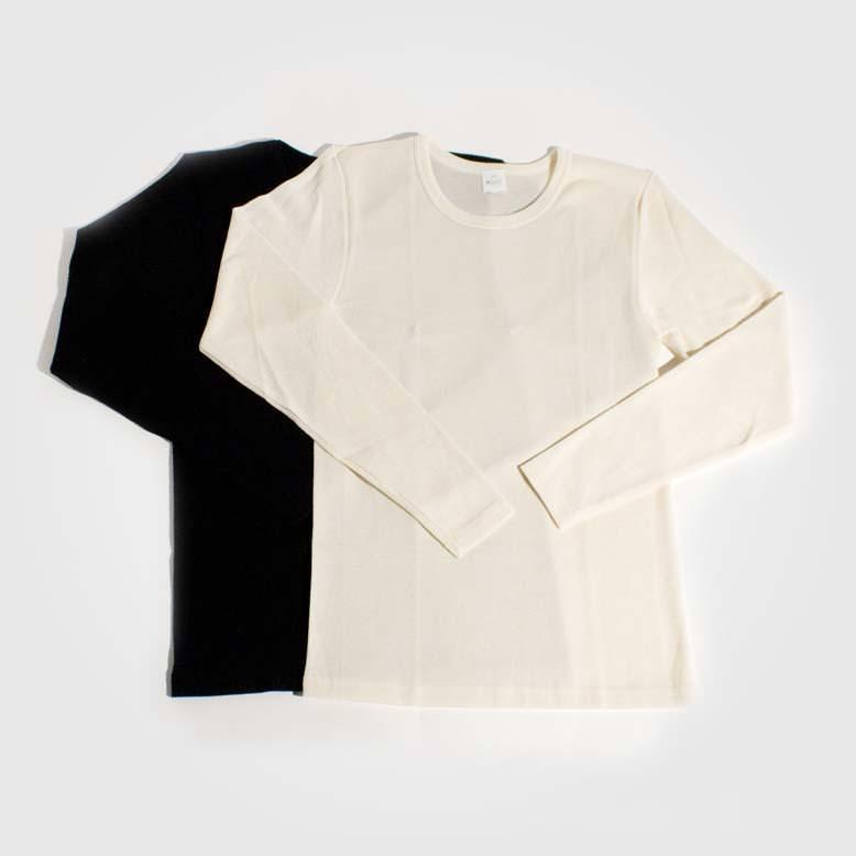 Unterhemd Wolle/Seide Unisex