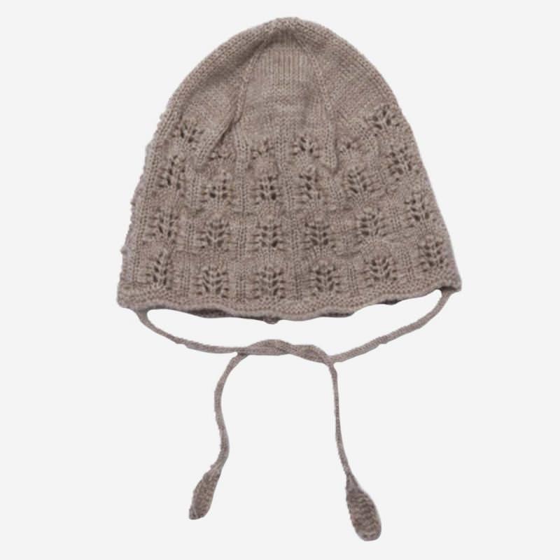 Strickmütze SINNA aus Wolle paloma brown