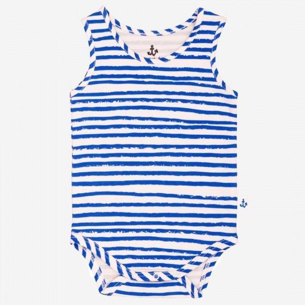 Tank Body blue stripes