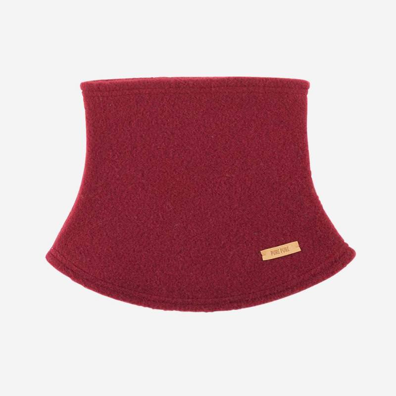 Mini-Schlupfschal Fleece burgundy