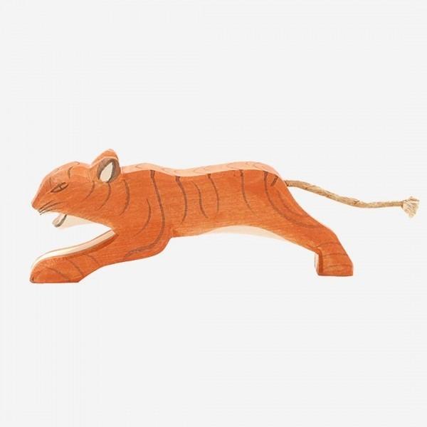 Tiger springend