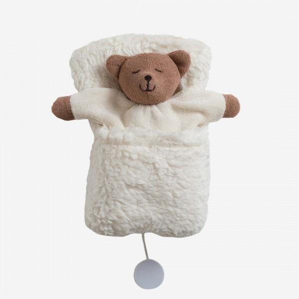 Bär Spieluhr im Schlafsack
