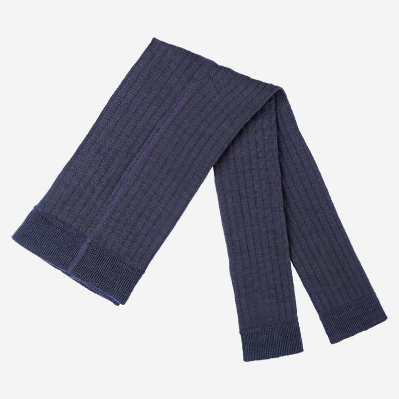 Leggings Wolle/Baumwolle navy
