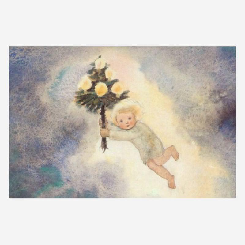 Postkarte Christkind (Milli Weber)