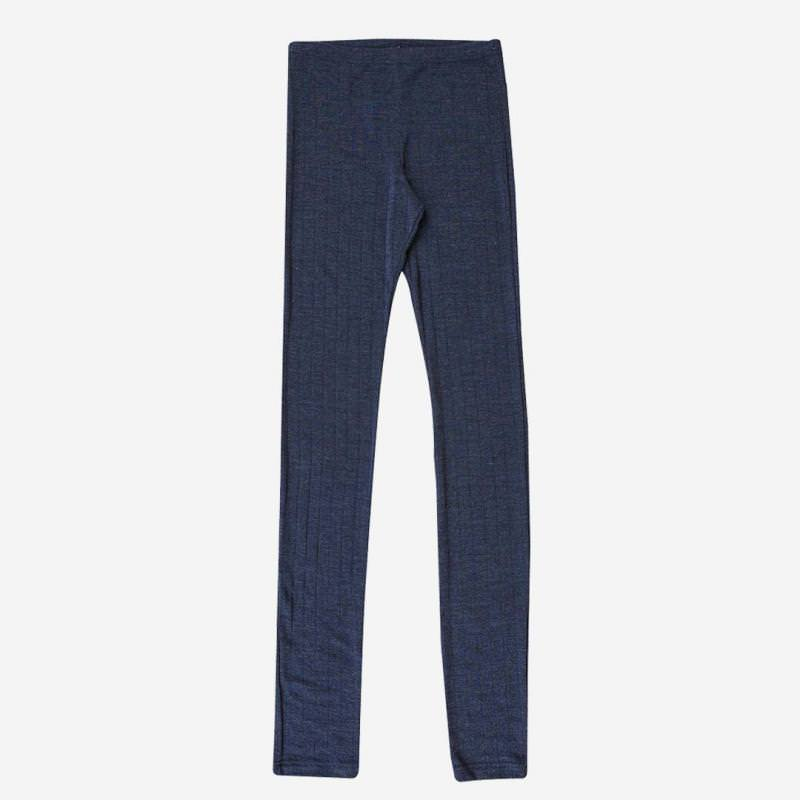 Damen Leggings Wolle/Seide