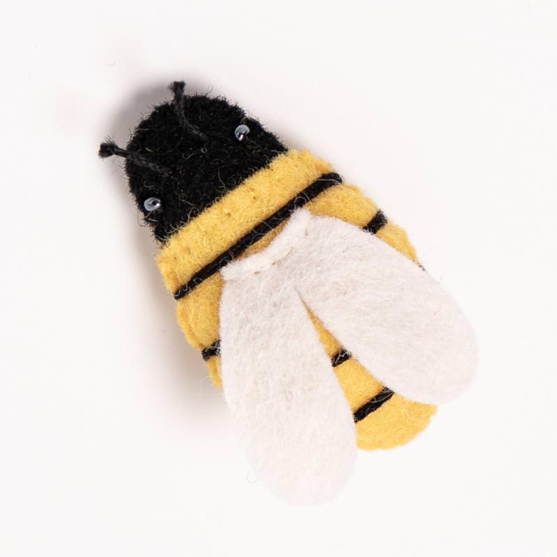 filtiere filz freunde hand maskottchen biene 1