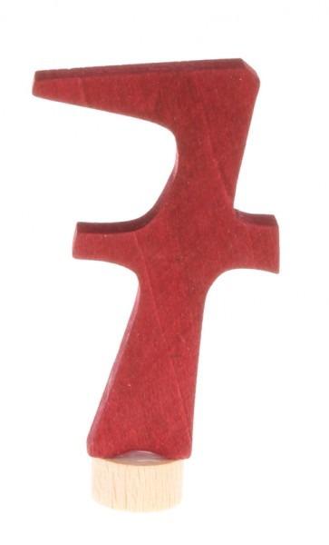 Zahlenstecker Waldorf 7