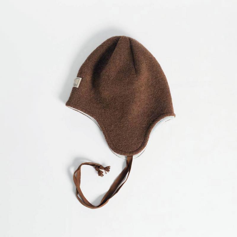 Mütze Jack Wollwalk hasel-grau