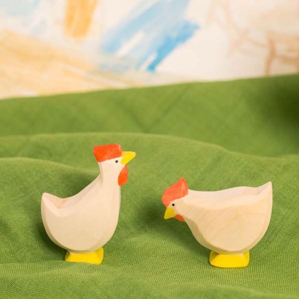 Huhn weiß