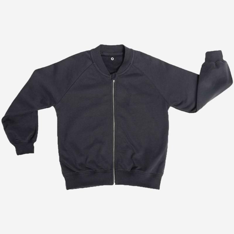 Zip-it-up Sweater cosmic black