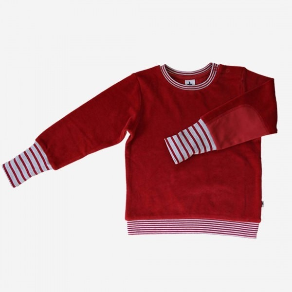 Nicky Pullover ziegelrot