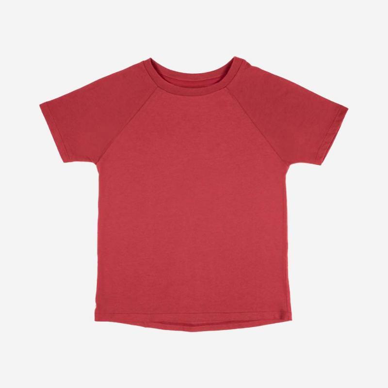T-Shirt Baumwolle granatapfel