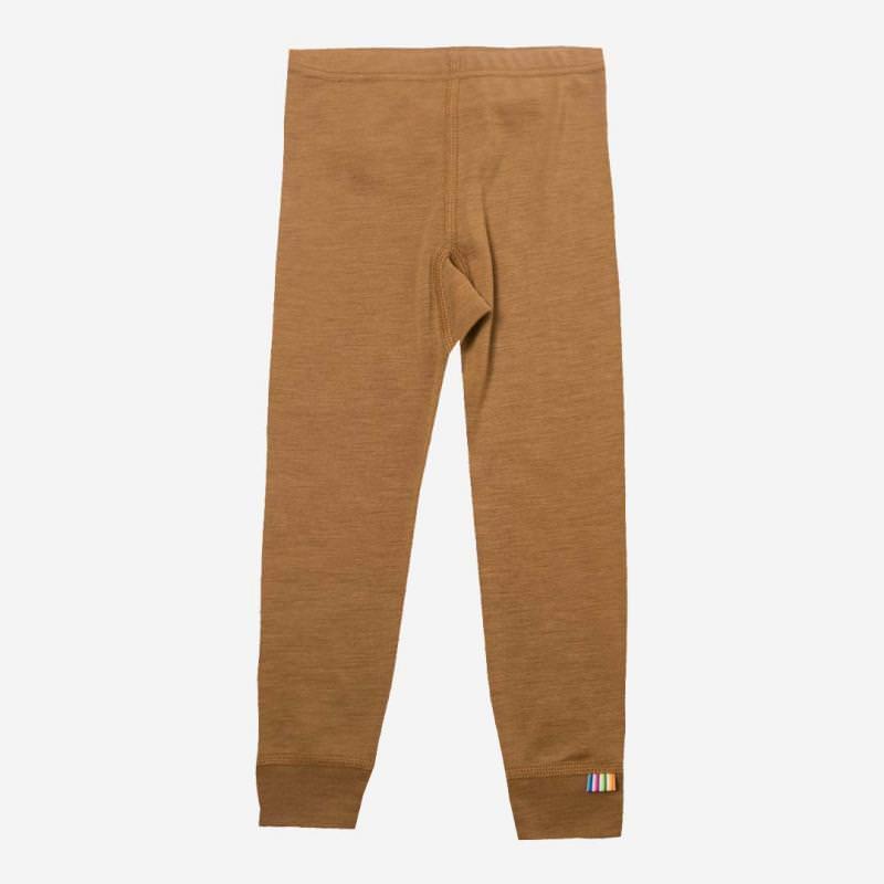 Leggings Wolle/Seide zimt